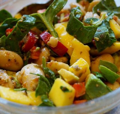 Butterbean salat