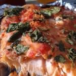 Pulled salmon (laks med soja/tomat)