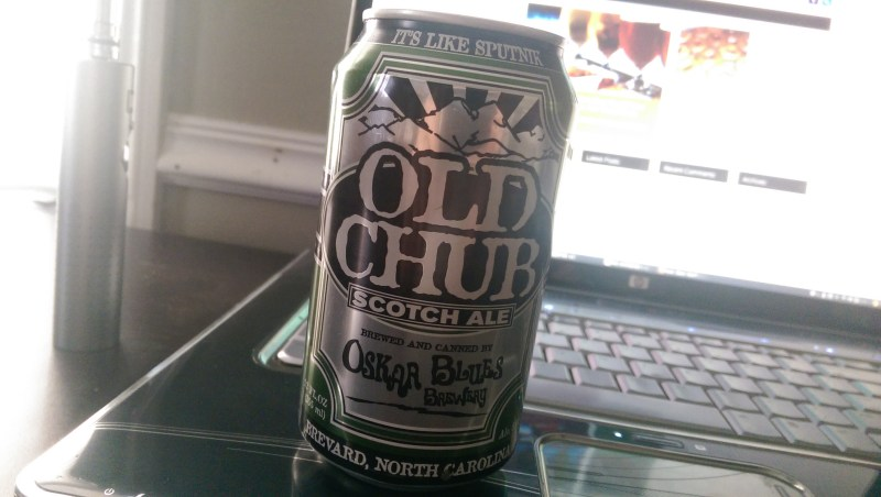 From the Oskar Blues Brewery this Scotch Ale will Knock your socks off.