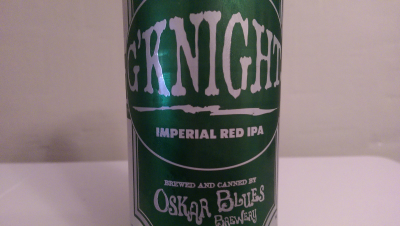 The big red beer that comes in a big green can