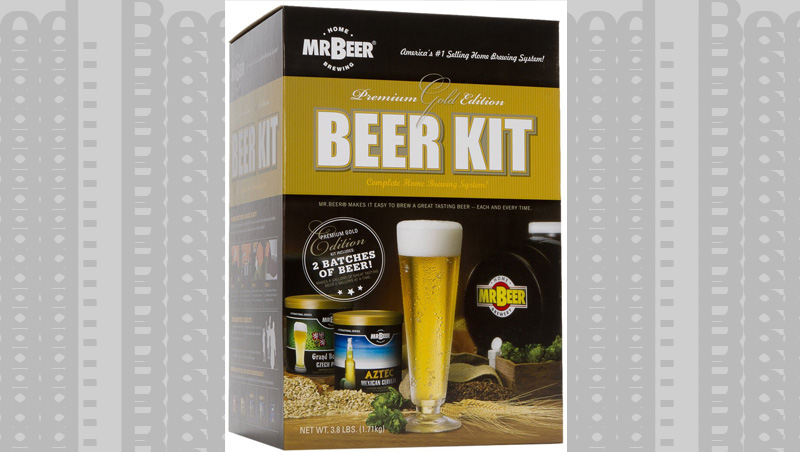 It is easy to make your own beer, so why not? Mr. Beer Kits are great for the beginner.
