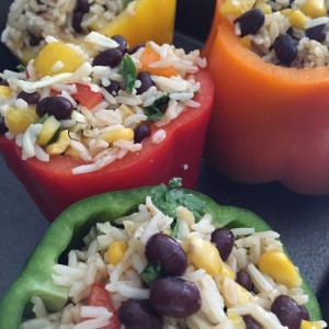 Tex-Mex Inspired Stuffed Peppers