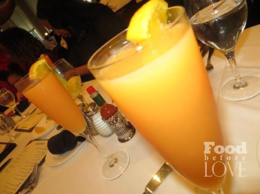 Blood Orange mimosas Acadiana