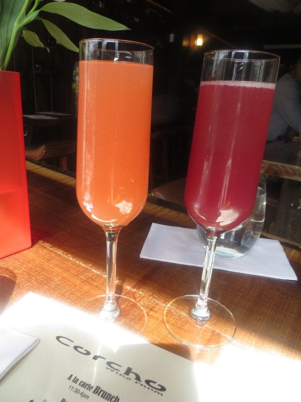 Corcho Wine Bar Mimosas
