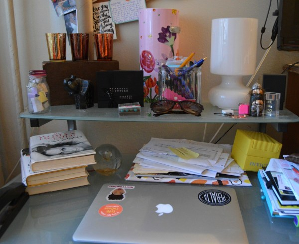 Unorganized-desk