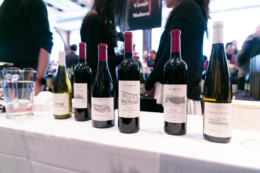 Kosher Food and Wine Expo Wine bottles