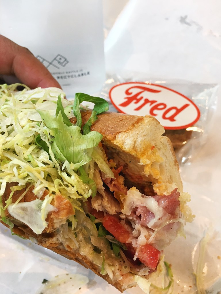 The Italian Grinder from Fred's Meat & Bread