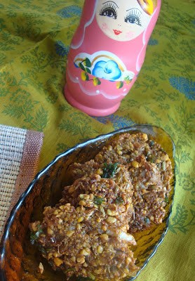 vazhaipoo vadai,banana flower vadai