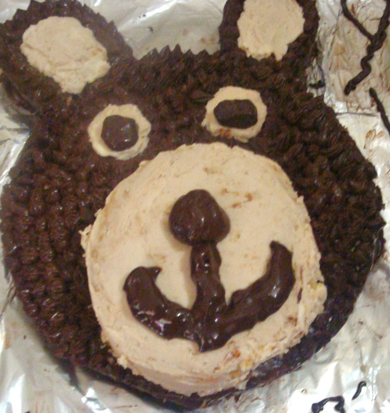 Teddy Bear Birthday Cake Food Better Be Good