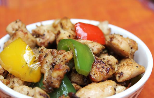 Chicken & Bell Pepper stir fry