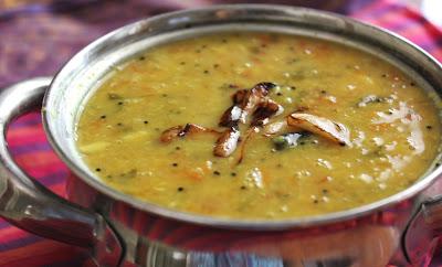 Paruppu Kadayal / Dal Tadka / Lentil Stew