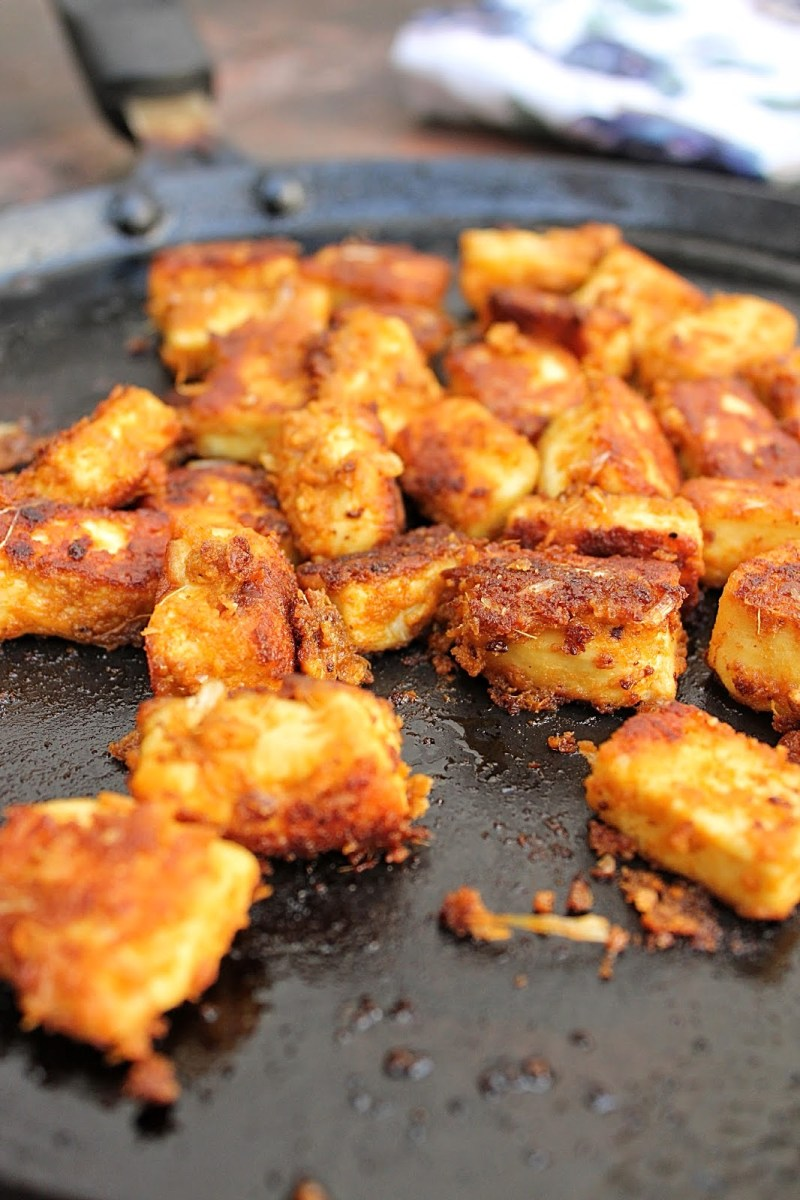 Pan Roasted Paneer