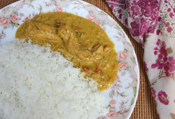fish assad, pondicherry style fish curry