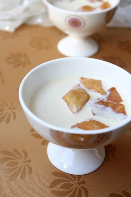 kheer poori, chettinad dessert