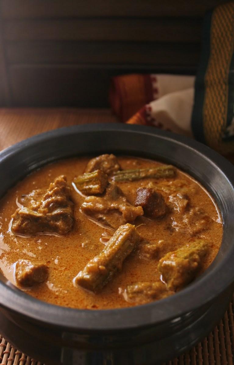 Mutton Drumstick Kurma |Mutton Murungakkai kurma – Bhagyaraj special