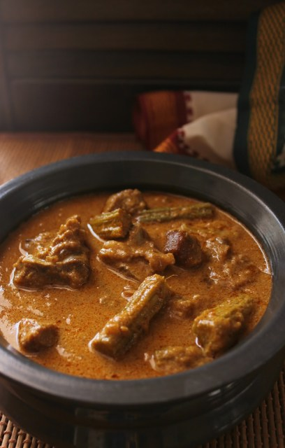 mutton drumstick kurma, mutton murungakkai kurma