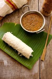 Puttu & Cherupayar curry