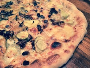 Is the dough of this Savoyard pizza going to give you problems? In someone who really has CD, it will.