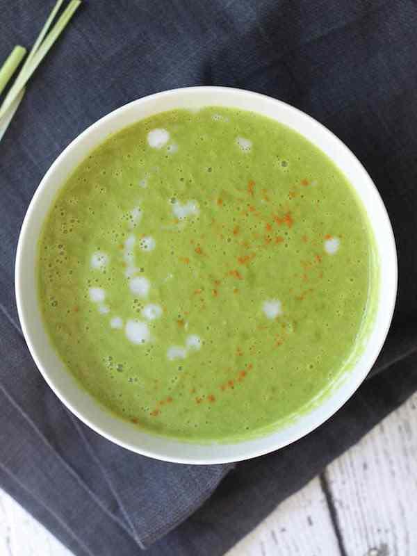 Thai Spring Pea Soup