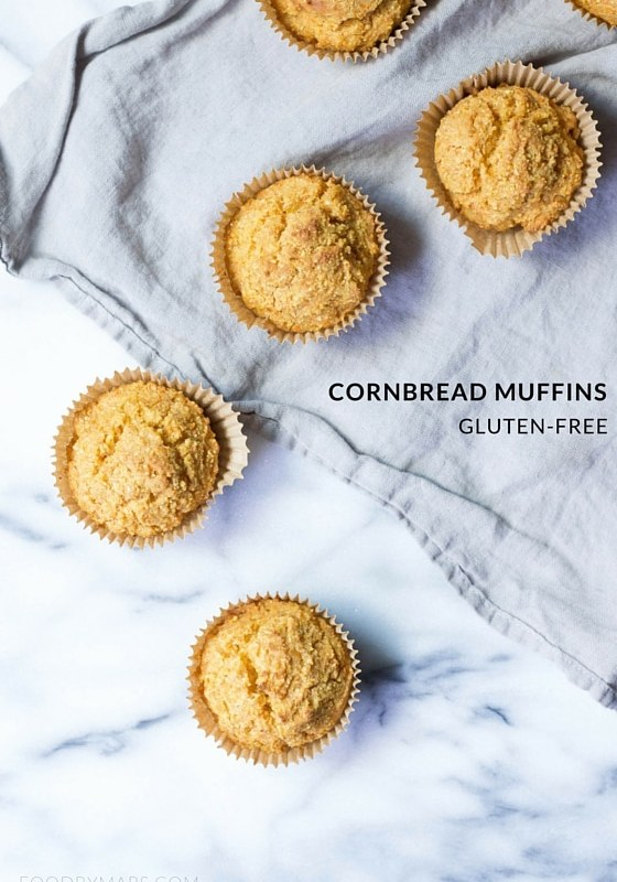 Cornbread Muffins (Gluten-free)