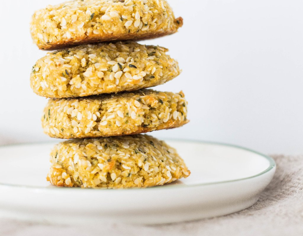 Pegan Sweet Seed Cookies (paleo, vegan, lightly sweetened)
