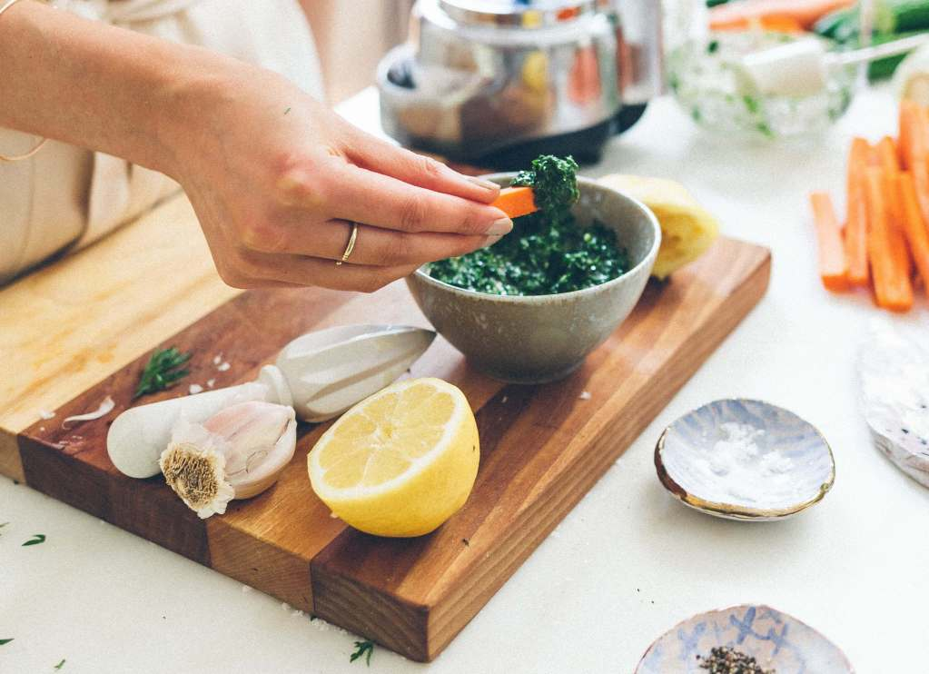 How to make dairy-free pesto via Foodbymars