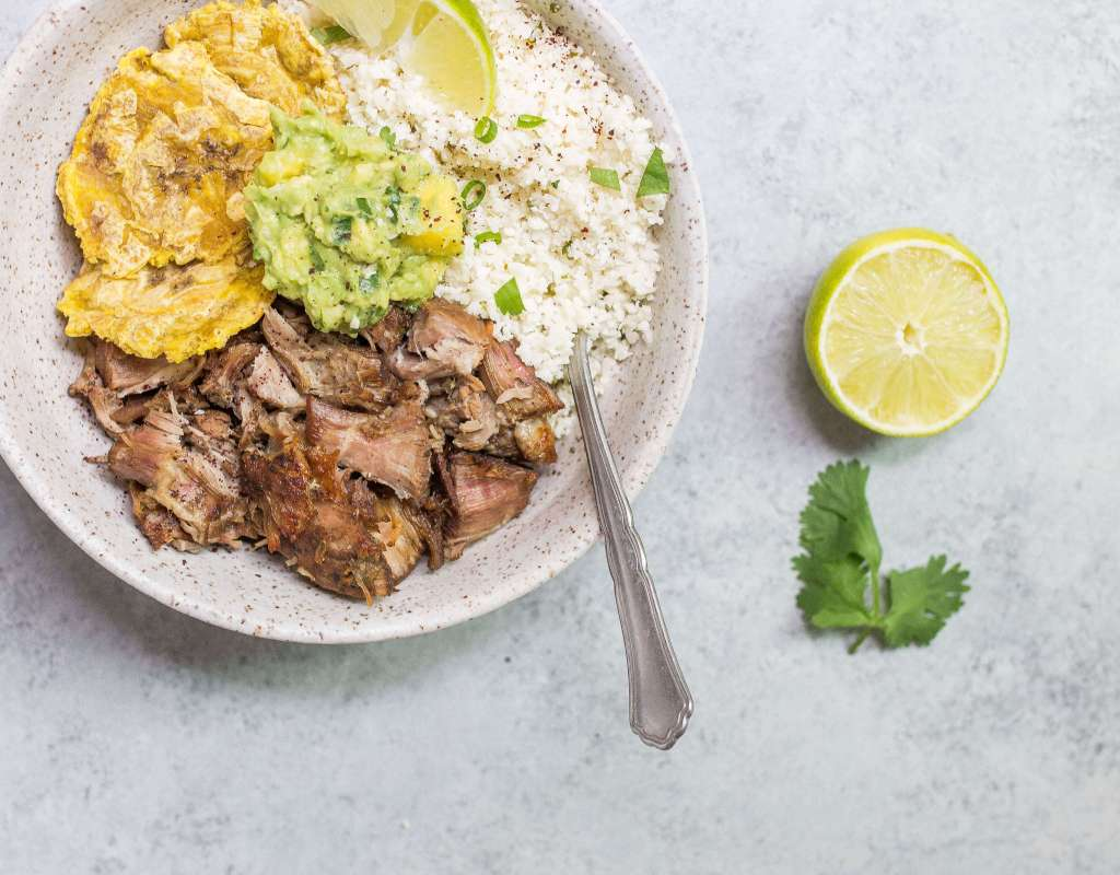 Paleo Carnitas Bowl (Crispy Pulled Pork) (AIP, Grain-free)