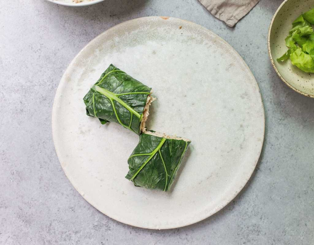 How To Make Collard Green Wraps (Recipe Template)