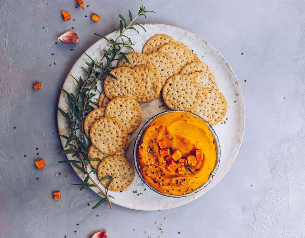 Roasted Garlic & Butternut Squash Dip (Paleo, AIP-friendly)