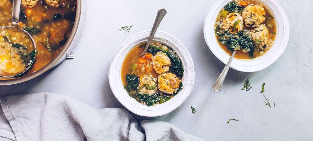Chicken Florentine Bone Broth Soup (AIP, Paleo)