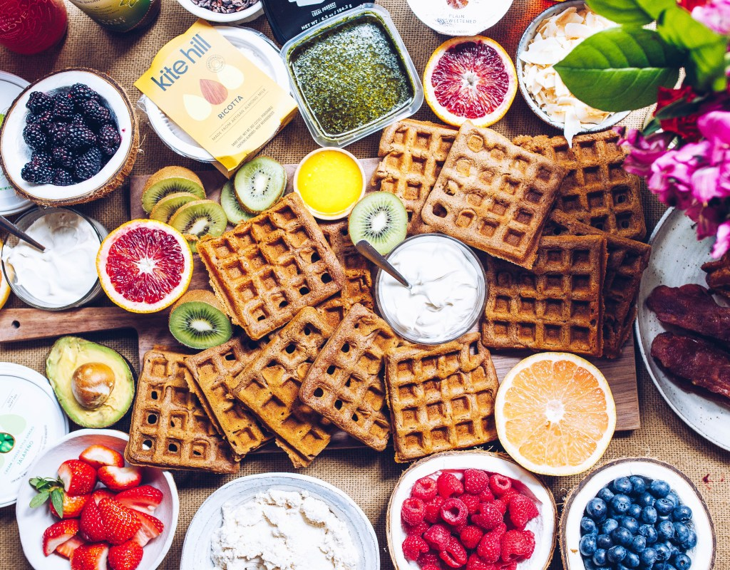 Paleo Waffle Brunch with Kite Hill