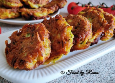 Chiftele de dovlecel cu cartofi