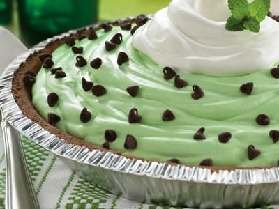 St. Patrick's Day Mint Pie