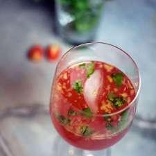 Rose Wine Peachy Bloody Mary
