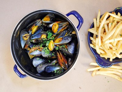 Moules Frites by Daisy Ryan at Bell's: Michelin Star Recipe