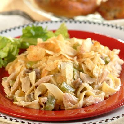 Creamy Tuna Noodle Casserole recipe