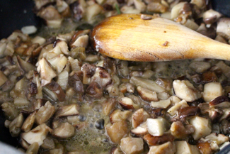 cooking porcini mushrooms