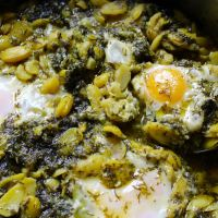 Baghali Ghatogh - stew of beans and dill