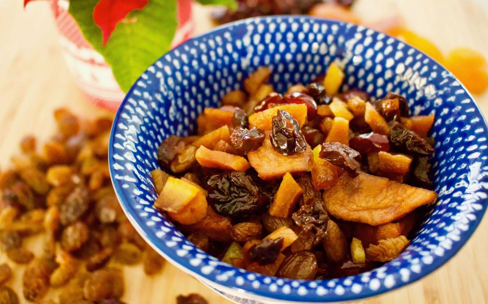 Dried Fruits for Christmas preparation