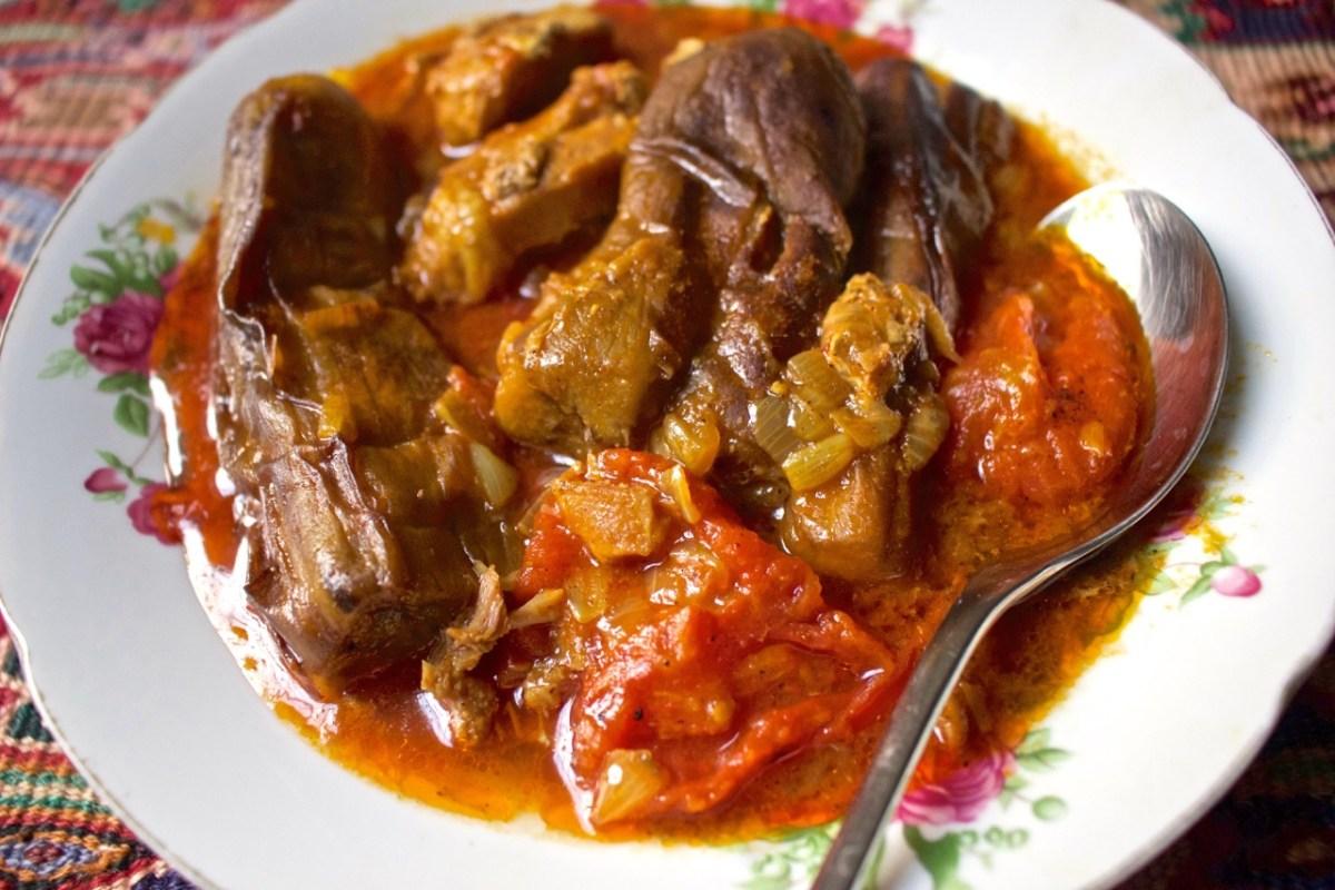 Eggplant stew - Khoresh Bademjan