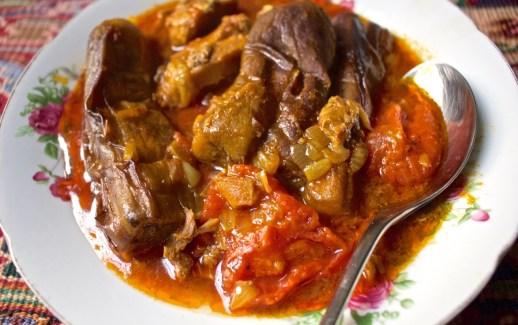 khoresht bademjan - Eggplant stew