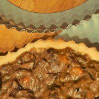 Short crust pastry pie crust