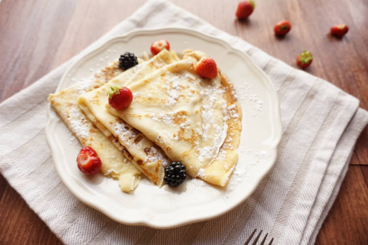 Crepes – the French pancake