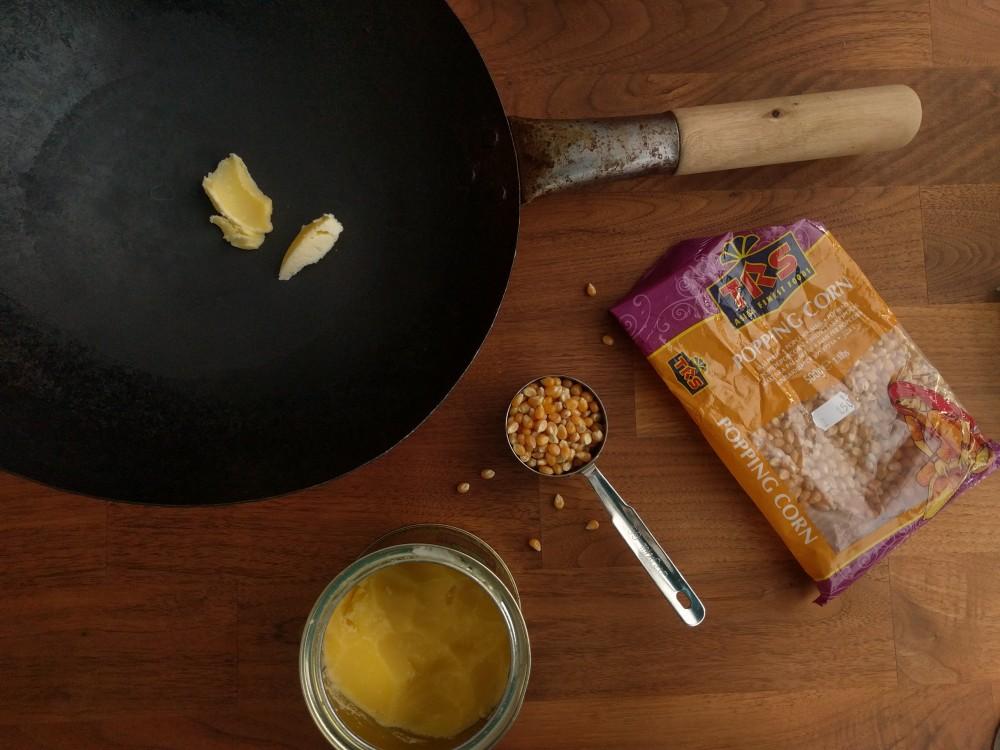 make stovetop microwave popcorn