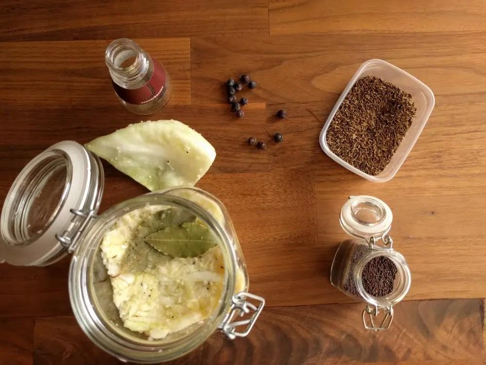 Making sauerkraut start of my experiment food crumbles the making sauerkraut start of my experiment forumfinder Gallery