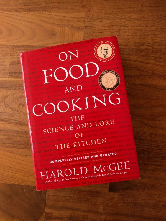 Book tip: On Food and Cooking – Harold McGee