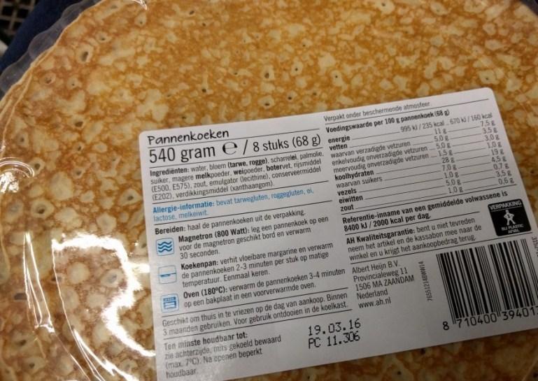Dutch microwave pancake