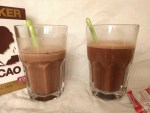 sedimentation experiment chocolate milk 10 min