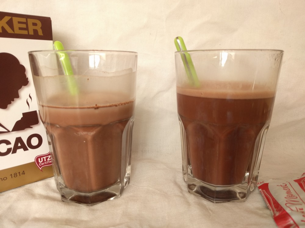 Chocolate milk & Sedimentation