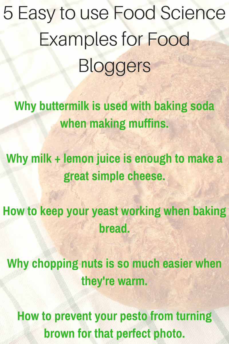 food science for food bloggers 5 easy to use examples food